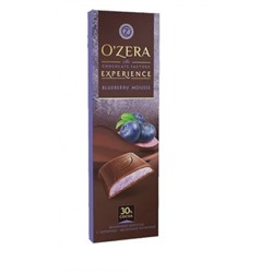 «OZera», шоколад Blueberry Mousse, 93 гр.