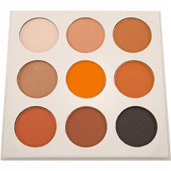 Тени для век Kylie Kyshadow Pressed Powder Eyeshadow The Bronze Palette Silver 40 g