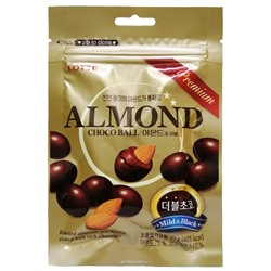 Миндаль в молочном шоколаде Almond Chocoball Lotte, Корея, 70 г