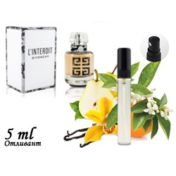 Пробник GIVENCHY L'INTERDIT COUTURE, Edp, 5 ml (ЛЮКС ОАЭ) 110