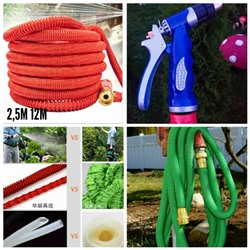 Шланг садовый Magic Garden Hose 2.5m > 12m Real