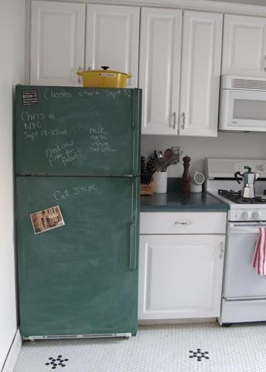 Давай покрасим холодильник в черный цвет оригинал