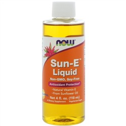 Now Foods, Sun-E Liquid, 18,800 IU, 4oz