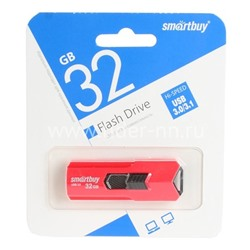 USB Flash  32GB SmartBuy STREAM красный 3.0
