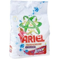 Стиральный порошок Ariel (Ариэль) автомат Чистота Deluxe Touch of Lenor Fresh, 3 кг