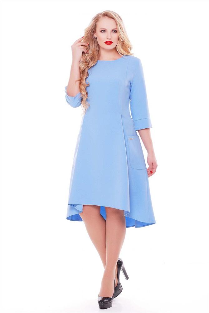 Голубой платье доставка