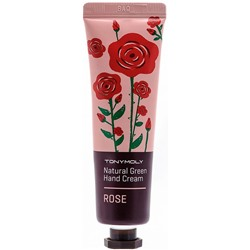 """Tony Moly"" Natural Green Hand Cream Rose крем для рук 30 мл"