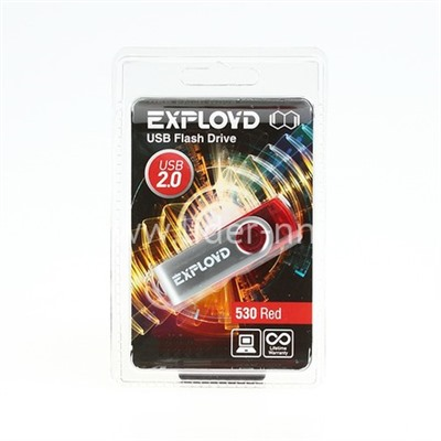 USB Flash 4GB Exployd (530) красный