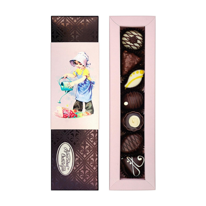 аюхаа конфеты старинная открытка кран